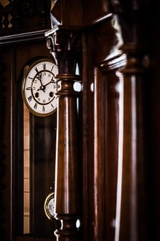 Old Clock, Time, Clock Shield, Tips, Antique