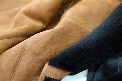 Leather, Clothing, Background, Closeup, Curved, Detail