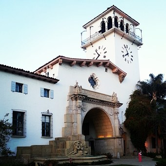 Santa Barbara, California, Church, Santa, Barbara