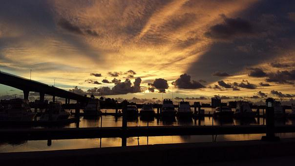 Harbor, Clearwater, Florida, Boats, Pinellas, Coast