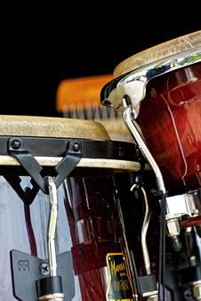 Bongos, Drums, Instrument, Musical Instrument, Detail