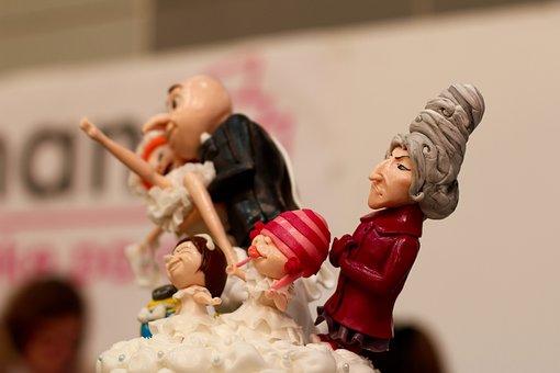 Cake, Minions, Caricature, Figures, Despicable Me, Gru