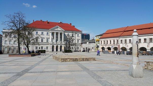 Kielce, Poland, The Market, City, Architecture