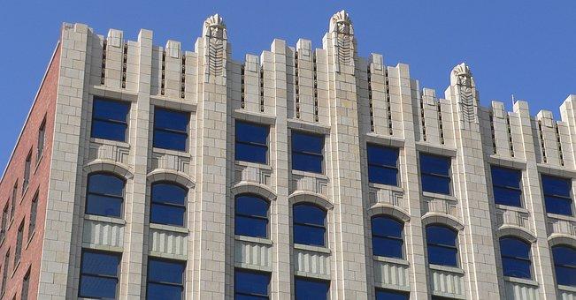 Badgerow, Building, Sioux City, Iowa, Upper, Corner