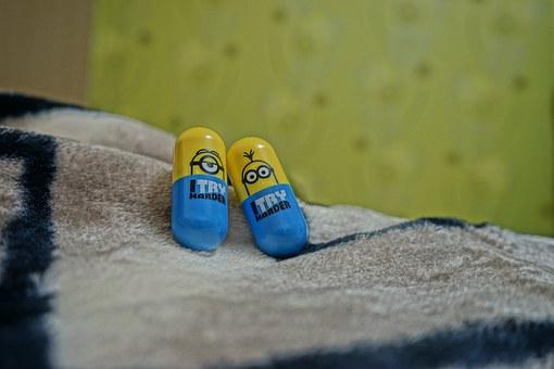 Minion, Room, Bed, Color, Cuteness, Do Happiness