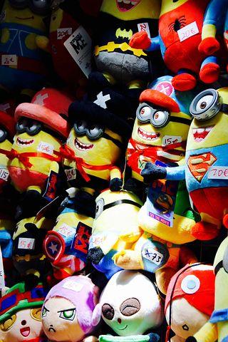 Minions, Comiccon, Dortmund, Fair, Comic, Fig, Fabric