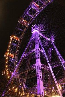 Vienna, Ferris Wheel, Prater, Austria, Fair