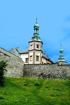 Church, Castle, Building, Old, Hell, Kielce, The Palace