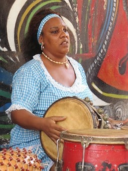 Cuba, Afro-cuban, Latin, Person, Black, Hispanic, Drums