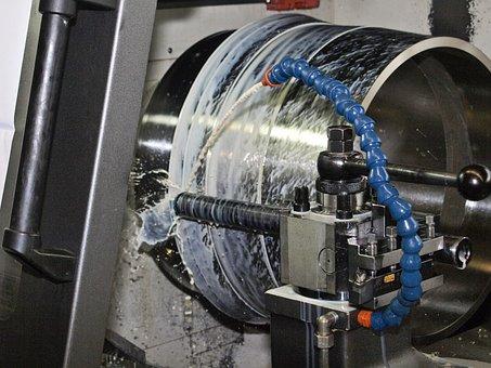Turn, Machining, Turning Tool, Metal Construction