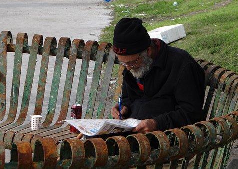 Man, Age, Traditionally, Human, Retirement, Sitting