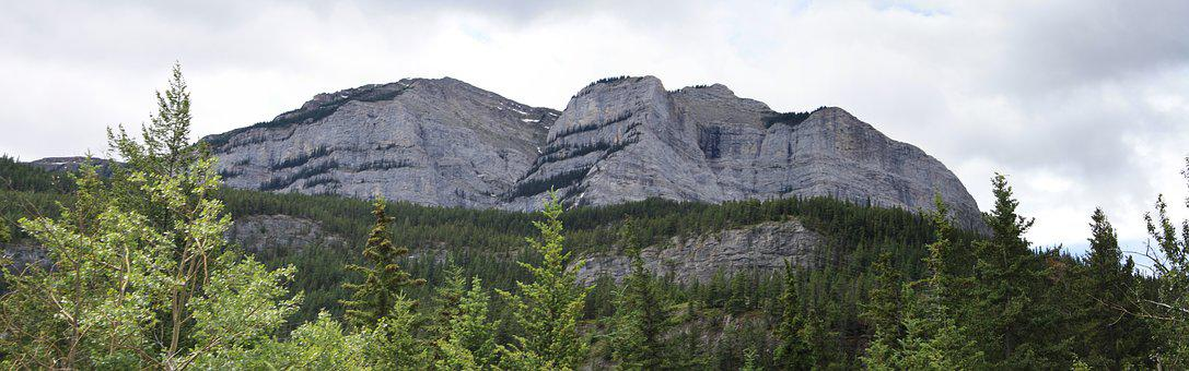 Mountains, Rocky, Banff, Rocky Mountains, Nature