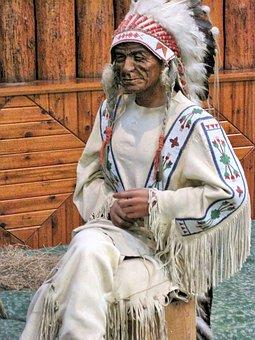 Native Indian Museum, Wax Figure, Banff, Alberta