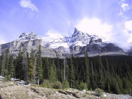 Banff, Mountain, Canada, Landscape, Park, Nature