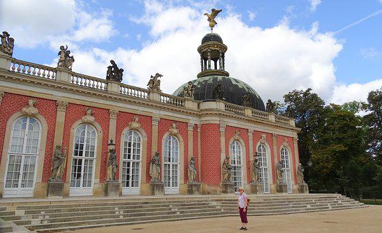 Potsdam, Castle, Places Of Interest, Historically