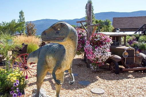 Dinosaur, British Columbia, Flowers, Color, Raptor