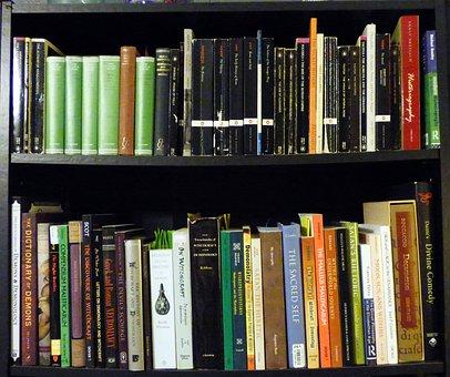 Bookshelf, Collection, Books, Read, Reading, Classics
