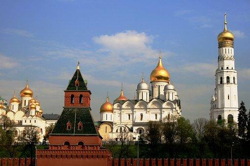 Red Brick Tower, Green Areas, Annunciation Church