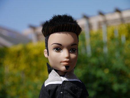 Rocker, Doll, Punk, Cool, Boy, Male, Bratz, Black Hair