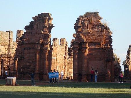 Ruins, San Ignacio, Missions, Argentina, Jesuits