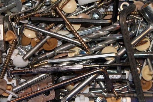 Screw, Screwdriver, Tool, Craftsmen, Drill