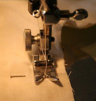 Needle, Stitch, Sewing-machine, Sewing Machine, Thread