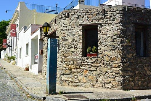 Stone House, Corner, Houses, Ancient, Stone, Window