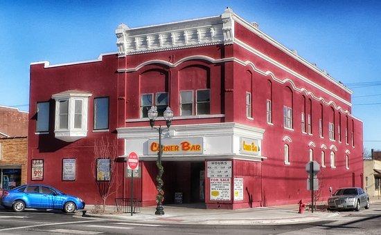 Fremont, Nebraska, Town, Building, Architecture, Bar