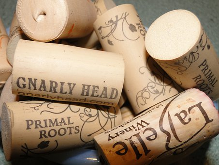 Wine, Corks, Stoppers, Printed, Variety, Winery