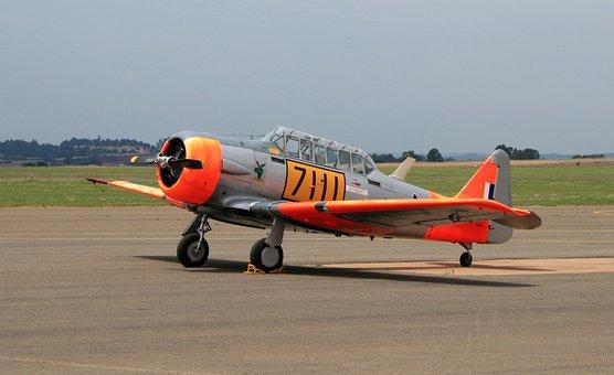 American Harvard, Aircraft, Airplane, Air Force, At-6
