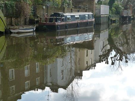 Camden Town, Canal, Boats, Camden, London, Water, River