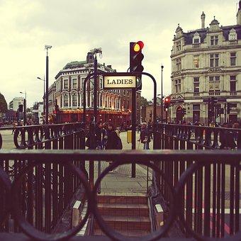 Urban, Street, Camden, London, City, Architecture