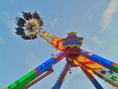 Fair, Carousel, Speed, Fun, Turn, Year Market
