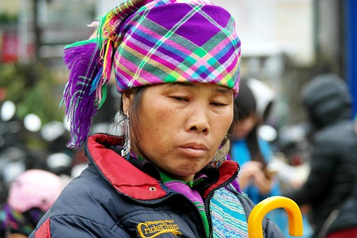 Hmong, Woman, Asia, Traditional, Culture, Clothing