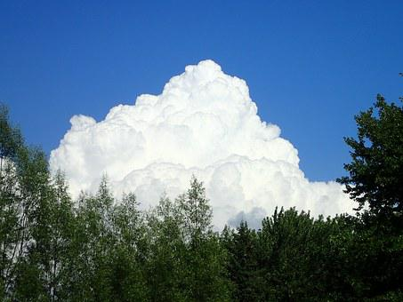 Cloud, Sky, Cloud Sky, Nature, Big, White, Huge