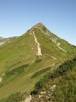 Tatry, Czerwone Wierchy, Kopa Kondracka, Mountains