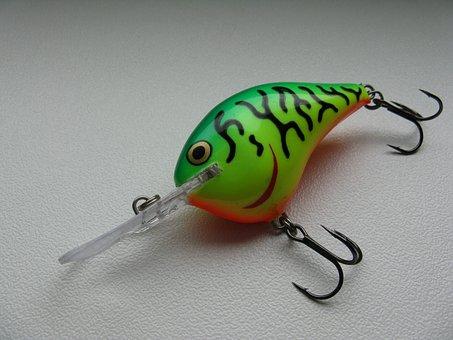 Wobbler, Lures, Fish, Predatory Fish, Fischer