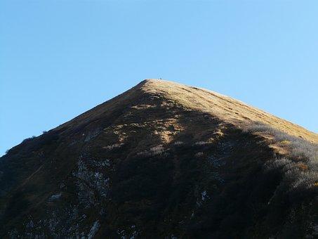 Rauheck, Mountain, Grassy Knoll, Aelpelesattel, Allgäu