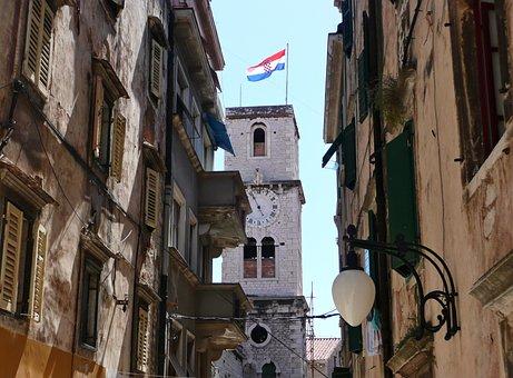 Sibenik, Croatia, City, History, Old Town