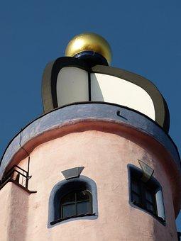 Hundertwasser, Home, Architecture, Window, Building