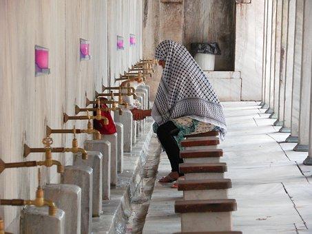Turkey, Istanbul, Mosque, Islam, Prayer, Islamic Woman