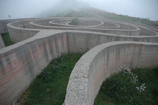 Fiumara D'arte, Maze Of Arianna, Italo Lanfredini