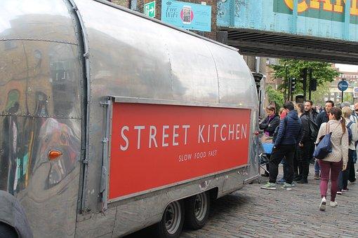 Street, Chicken, Fast Food, Slow Food, London