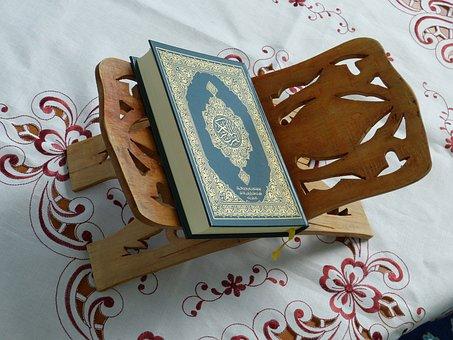 Quran, Holy, Book, Islam, Prayer, Religion, Arabic