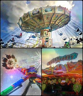 Fair, Year Market, Folk Festival, Ride, Fun, Carousel