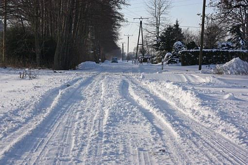 Snow, Road, Winter Service, Winter, Blizzard, Snowdrift