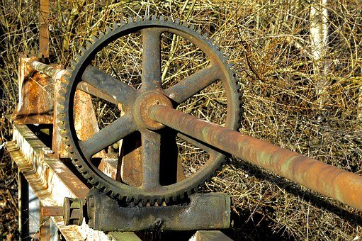 Gear, Signal Box, Stainless, Iron, Wheel, Metal, Steel