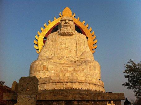 Buddha, Statue, Stone, China, Asia, Buddhism, Religion