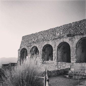 Ruins, Excavations, Romano, Romans, Temple, Antiquity