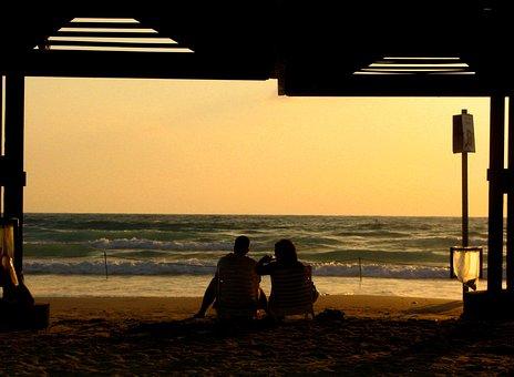 The Mediterranean Sea, Evening In Haifa, Two